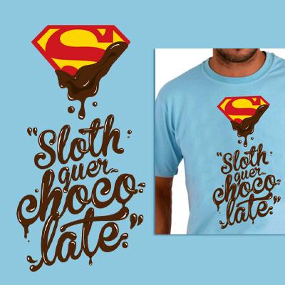 Sloth quer chocolate.